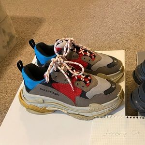 Balenciaga Triple S Multi Colorway